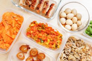 作り置き・常備菜・お弁当の写真素材 [FYI04659412]
