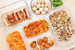 作り置き・常備菜・お弁当の写真素材 [FYI04659415]