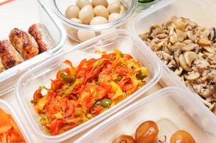 作り置き・常備菜・お弁当の写真素材 [FYI04659426]