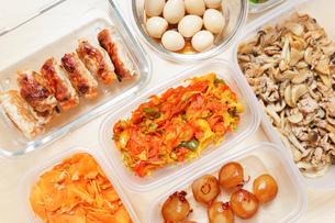作り置き・常備菜・お弁当の写真素材 [FYI04659427]