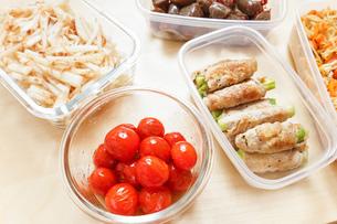 作り置き・常備菜・お弁当の写真素材 [FYI04659433]