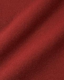 毛羽立ちのある赤い布の写真素材 [FYI04659705]