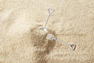 砂遊び イメージの写真素材 [FYI04659810]