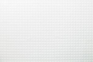 モザイクタイル-白-真俯瞰の写真素材 [FYI04659825]