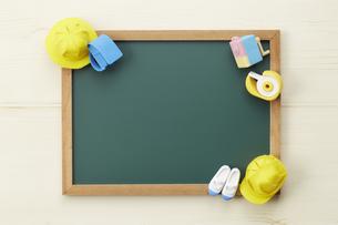 小学校-通学-黒板-イメージの写真素材 [FYI04659866]