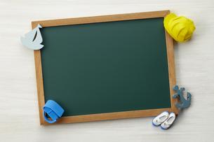 小学校-通学-黒板-イメージの写真素材 [FYI04659868]