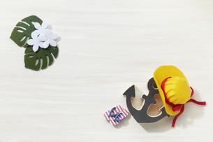 夏イメージ-ハンドメイド-ミニチュアの写真素材 [FYI04659870]
