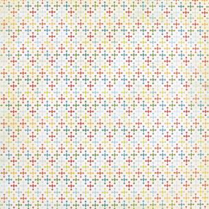 背景素材シリーズ---グランジ レトロ ヴィンテージ パターン 十字架の写真素材 [FYI04659877]