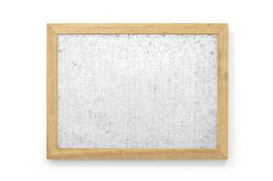 ブリキ風ボード(バック飛ばし、影イキ)の写真素材 [FYI04659921]