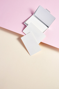 白-名刺-メッセージカード-ビジネス-テンプレート-デザインの写真素材 [FYI04660019]