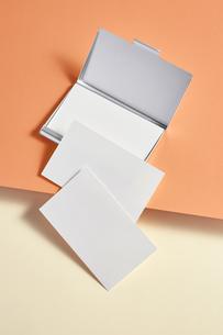 白-名刺-メッセージカード-ビジネス-テンプレート-デザインの写真素材 [FYI04660031]