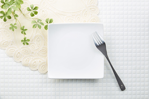 モザイクタイル-食器-皿の写真素材 [FYI04660080]