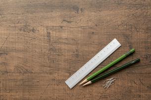 文房具 勉強机 stationeryの写真素材 [FYI04660100]