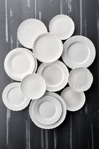 いろいろな皿の写真素材 [FYI04660125]