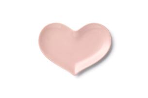 ハート皿 ピンクの写真素材 [FYI04660151]
