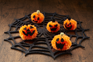 Halloween Jack-o'-Lanternの写真素材 [FYI04660211]