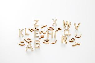 アルファベットの写真素材 [FYI04660251]