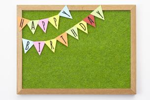 イベントイメージ( HAPPY BIRTHDAY)の写真素材 [FYI04660255]