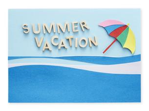 夏休み Summer vacationの写真素材 [FYI04660259]
