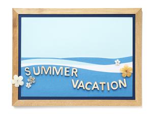 カード Summer Vacationの写真素材 [FYI04660281]