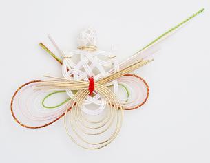 水引 亀(paper strings tied around a wrapped gift)の写真素材 [FYI04660431]