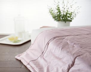 明るい寝室の写真素材 [FYI04660510]