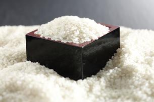 米に埋もれた米の写真素材 [FYI04660991]