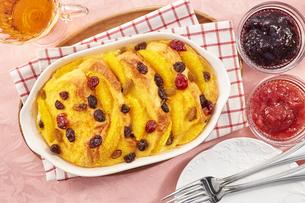 パンプディング (bred pudding)の写真素材 [FYI04661027]