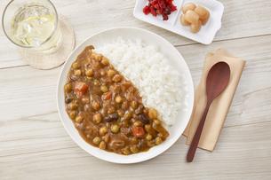 豆カレーの写真素材 [FYI04661179]
