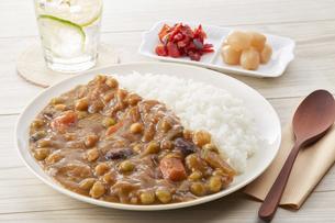 豆カレーの写真素材 [FYI04661183]