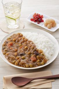 豆カレーの写真素材 [FYI04661189]