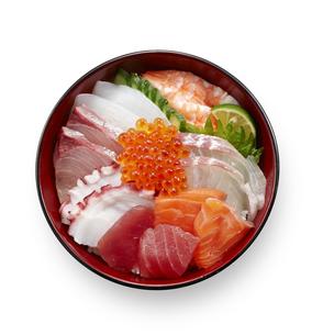 海鮮丼の写真素材 [FYI04661331]