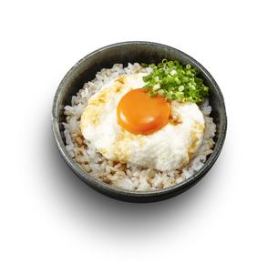 麦とろ丼(醤油がけ)の写真素材 [FYI04661337]