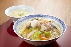 中華丼の写真素材 [FYI04661356]