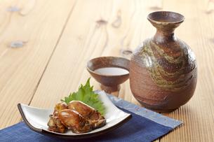 牡蠣の照り煮の写真素材 [FYI04661535]