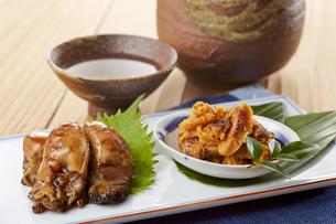 牡蠣の照り煮・焼きウニの写真素材 [FYI04661552]