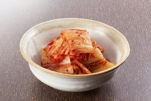 白菜キムチの写真素材 [FYI04661598]