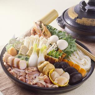 寄せ鍋 (Japanese hot pot)の写真素材 [FYI04661637]
