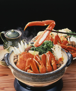 カニ鍋の写真素材 [FYI04661649]
