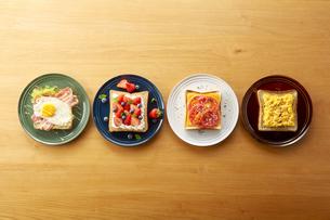 オープンサンドイッチ (open sandwich)の写真素材 [FYI04661927]