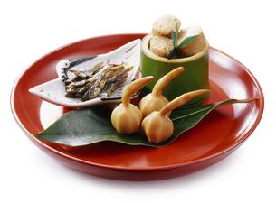 おせち料理 3品の写真素材 [FYI04661933]