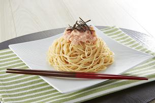 たらこスパゲッティの写真素材 [FYI04661975]