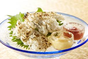 炙りハモ (boiled conger pike)の写真素材 [FYI04662029]