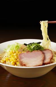味噌ラーメン Japanese Ramen noodlesの写真素材 [FYI04662050]