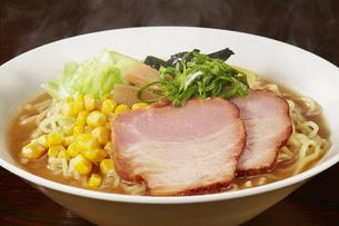 味噌ラーメン Japanese Ramen noodlesの写真素材 [FYI04662055]