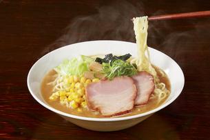 味噌ラーメン Japanese Ramen noodles misoの写真素材 [FYI04662057]