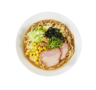 味噌ラーメン Japanese Ramen noodlesの写真素材 [FYI04662058]