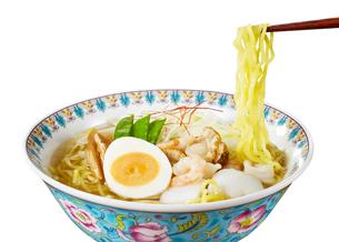 塩ラーメン (Japanese Ramen Noodle)の写真素材 [FYI04662060]