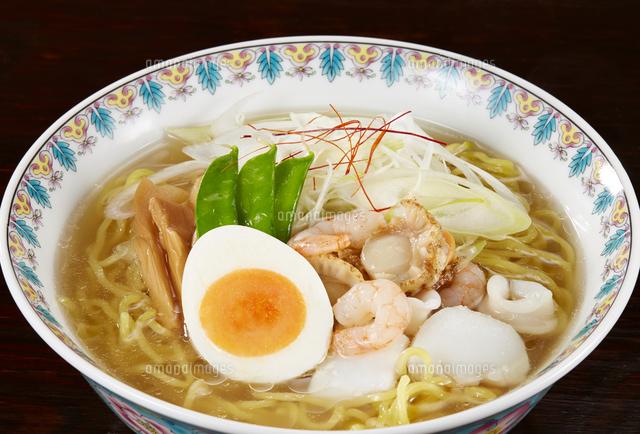 塩ラーメン Japanese Ramen Noodlesの写真素材 [FYI04662067]