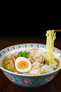 塩ラーメン Japanese Ramen Noodlesの写真素材 [FYI04662070]